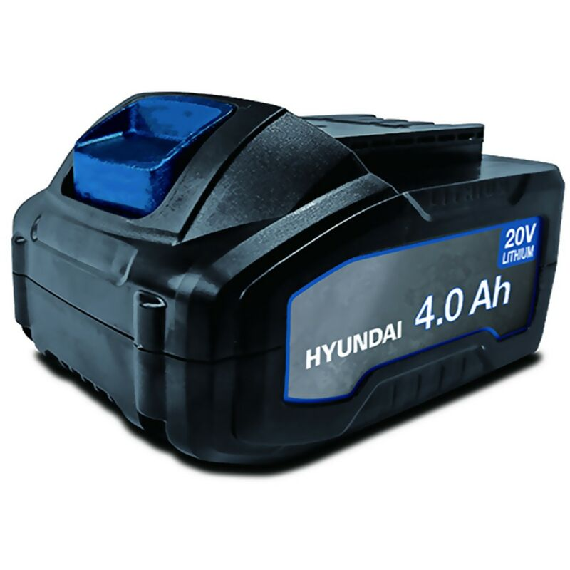 Batterie pour outil électroportatif - HYUNDAI HBA20U4 - 20V - Lithium 2Ah - compatible avec tous les outils de la gamme 20V