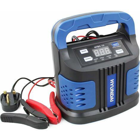 Hyundai Battery Charger/Booster 6v & 12v 15 Amp HYBC-10