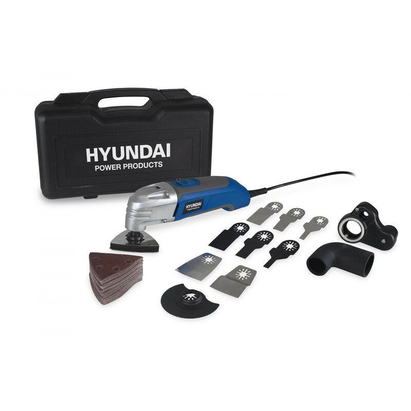 HYUNDAI Coffret outil multi-fonctions 300W 60 Accessoires HSM300-60P