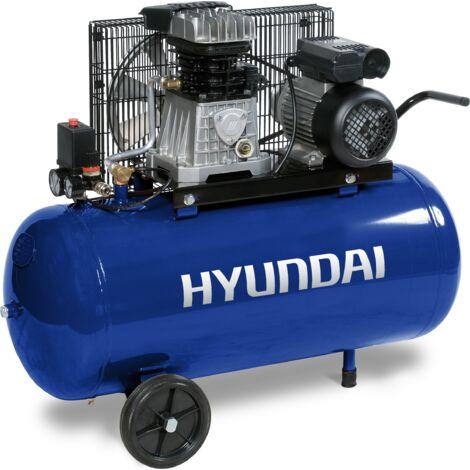 HYUNDAI-COMPRESOR 100 L - 3 HP MONOFASICO
