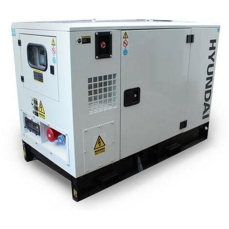 Hyundai DHY11KSE 1500rpm 11kVA Three Phase Diesel Generator