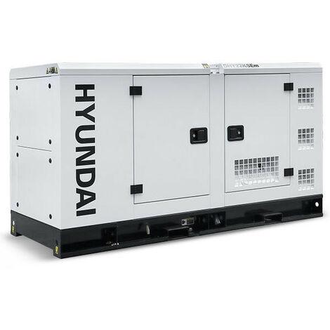 Hyundai DHY22KSEm 1500rpm 27.5kVA Single Phase Diesel Generator