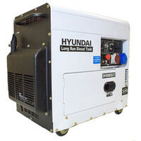 Hyundai DHY8000SELR-T 6kW 3-phase Silenced Long Run Diesel Generator