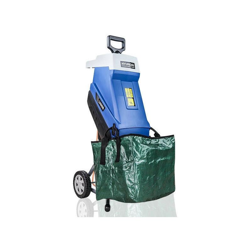Image of Electric Garden Shredder, 2400w / 2.4kW, 230v | HYCH2400E - Hyundai
