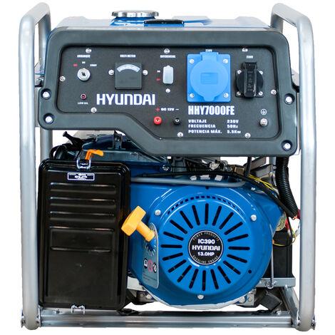 HYUNDAI. Generador gasolina, 5500W, 230V, 69db, 73KG.