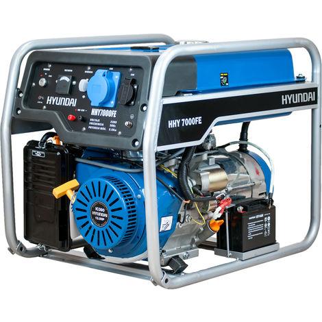 HYUNDAI. Generador Inverter 2800w. Arranque eléctrico, 230v, 58db, 31kg.