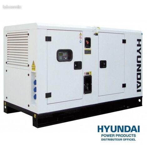 HYUNDAI Groupe électrogène diesel insonorisé tri 16.5kva DHY16KSE