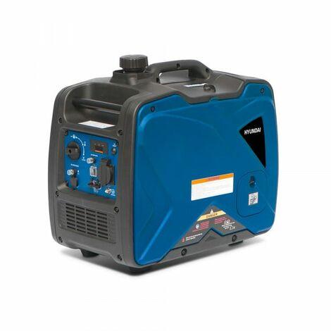 HYUNDAI Groupe électrogène essence Inverter 3300 W 3100 W - démarrage manuel avec lanceur HG3300I
