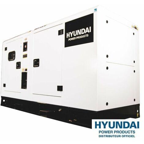 HYUNDAI Groupe électrogène industriel Diesel 22kVA DHY22KSE (triphasé)