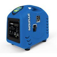 Hyundai - Groupe électrogène Inverter et silencieux 4 tPS 1,6 kW Auto : 5.5h - HY2000SI