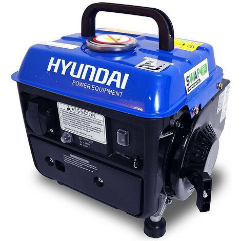 HYUNDAI Groupe électrogène portatif 720W 2 Temps 63cc HG800-3
