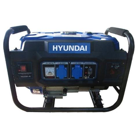 HYUNDAI - HG2201-A - Groupe électrogene Essence de chantier 2200 W - Systeme AVR