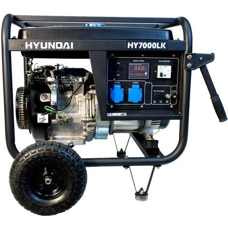 HYUNDAI-HY-HY7000LK GENERADOR HYUNDAI GASOLINA 3000rpm