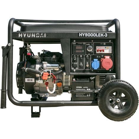 HYUNDAI-HY-HY9000LEK-3R GENERADOR HYUNDAI GASOLINA 3000rpm - 400v