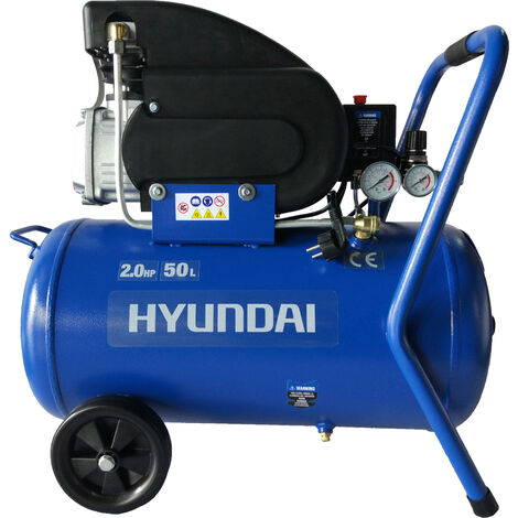 HYUNDAI-HY-HYAC50-21 COMPRESOR HYUNDAI 50 L - 2 HP MONOFASICO