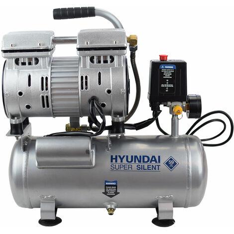 HYUNDAI-HY-HYAC6-07S COMPRESOR 6 L - 550W MONOFASICO SILENCIOSO