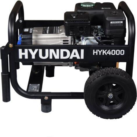 HYUNDAI-HY-HYK4000 GENERADOR HYUNDAI GASOLINA RENTAL