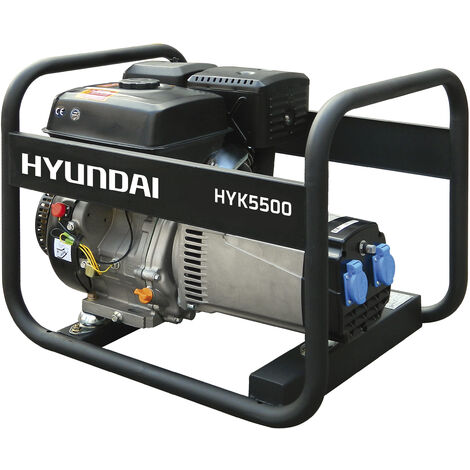 HYUNDAI-HY-HYK5500 GENERADOR HYUNDAI GASOLINA RENTAL