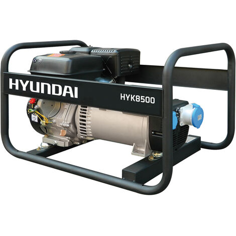 HYUNDAI-HY-HYK8500-KIT GENERADOR HYUNDAI GASOLINA RENTAL sin alternador