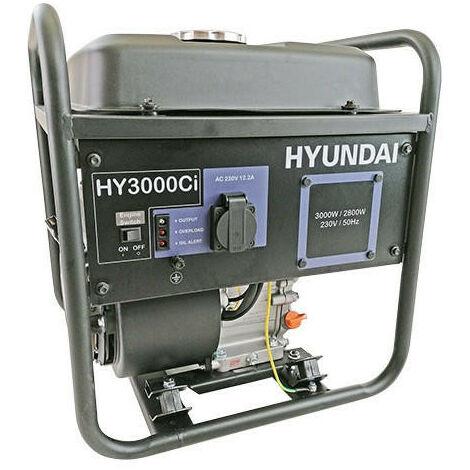 Hyundai HY3000CI 3kW 212cc 7hp Converter Generator