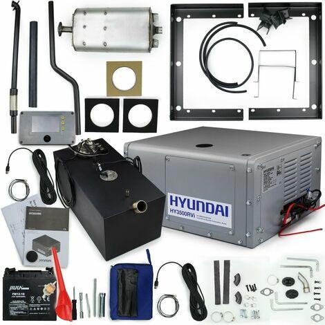 Hyundai HY3500RVi Inverter Generator With Fixed Frame