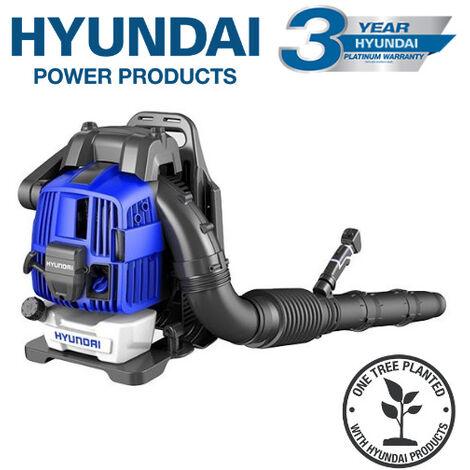 Hyundai HY4B76 76cc 4-Stroke Backpack Petrol Leaf Blower