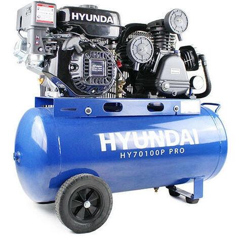 Hyundai HY70100P Petrol Driven Air Compressor
