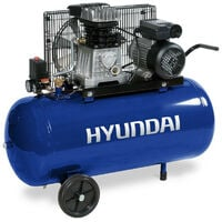 HYUNDAI HYACB100-3 Compresseur Pro 10 Bar 100 Litres courroie