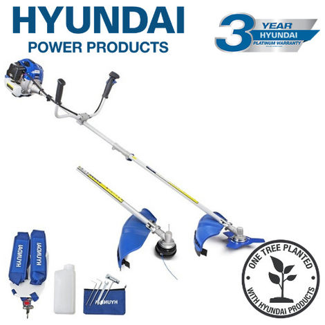 Hyundai HYBC5200X 52cc Petrol Grass Trimmer / Strimmer / Brushcutter