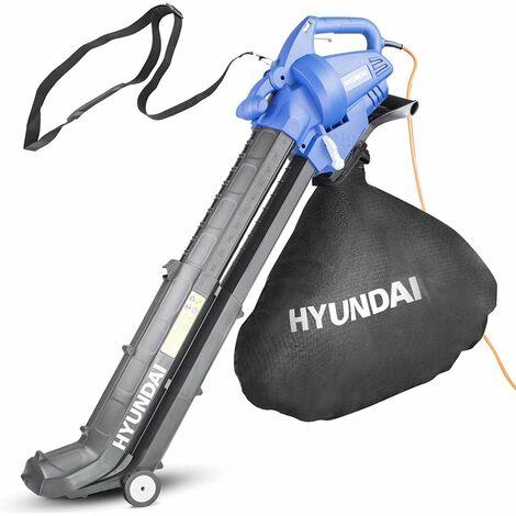 Hyundai HYBV3000E 3 in 1 3000W Electric Leaf Blower Vacuum & Shredder