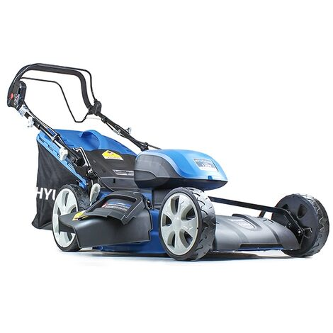 Hyundai HYM120LI510 2 x 60V Lithium Ion Cordless Battery Powered Self Propelled Lawn Mower With 2x Batteries & Charger