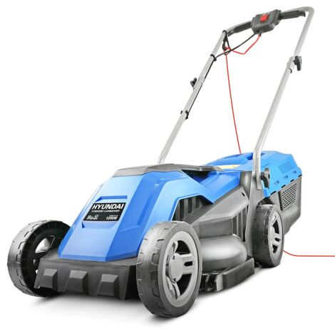 "main image of ""Hyundai HYM3300E 330mm Corded Roller Mulching Lawnmower 1200W 230V"""