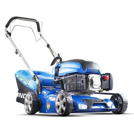 """Hyundai HYM430SP Self Propelled 17"""" 43cm 430mm 139cc Petrol Lawn Mower Lightweight Lawnmower - Includes 600ml Engine Oil"""