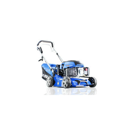 "Hyundai HYM430SPE Self Propelled Electric Start 17"" 42 cm 420mm Petrol Lawn Mower plus 500ml Free Engine Oil"
