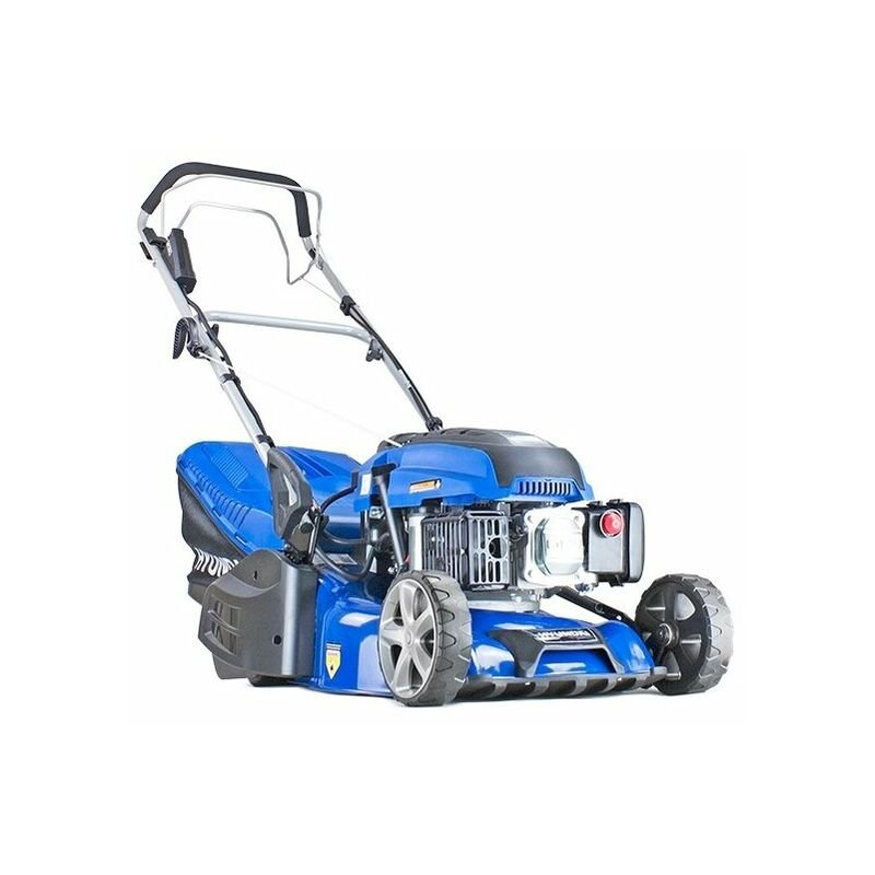 hyundai hym430sper self propelled 17 43cm 430mm 139cc electric start petrol roller lawn mower includes 600ml engine oil L 4031488 19686494 1