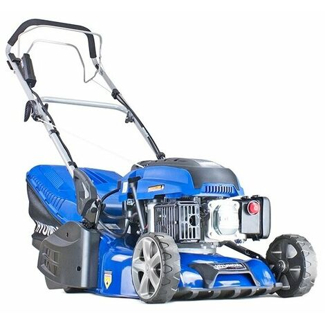 "Hyundai HYM430SPER Self Propelled 17"" 43cm 430mm 139cc Electric Start Petrol Roller Lawn Mower - Includes 600ml Engine Oil"