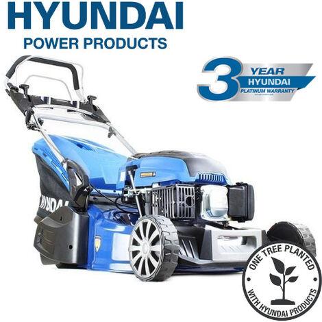 "main image of ""Hyundai HYM480SPR 19"" 48cm 480mm Self Propelled 139cc Petrol Roller Lawn Mower - Includes 600ml Engine Oil"""