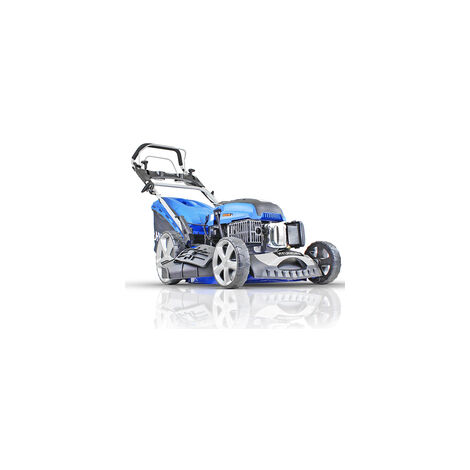 "Hyundai HYM510SPE 20"" 51cm 510mm Self Propelled Lawnmower Electric Push Button Start 196cc Petrol Lawn Mower - Includes 600ml Engine Oil"