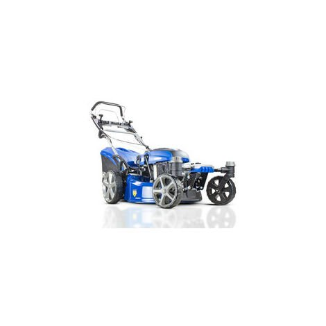 "Hyundai HYM510SPEZ 20"" 51cm 510mm Self Propelled ZERO-TURN ULTRA LOW CUT Lawn Mower Electric Push Button Start 196cc Petrol Lawn Mower - Includes 600ml Engine Oil"