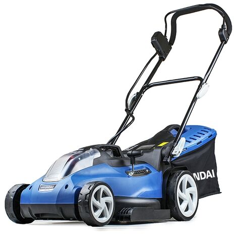 Hyundai HYM60LI420 60V Lithium Ion Cordless Battery Powered Roller Lawn Mower With Battery and Charger
