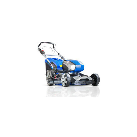 """Hyundai HYM80LI460SP 80V Lithium-Ion Cordless Battery Powered Self Propelled Lawn Mower 18"""" Cutting Width With Battery and Charger"""