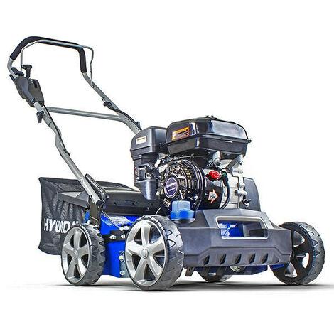 Hyundai HYSC210 Petrol Lawn Scarifier and Aerator Plus Free 600ml Oil