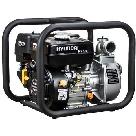 Hyundai - Motopompe thermique 500 l/min 163 cc à essence 3.6 l (eau propre) - HY50