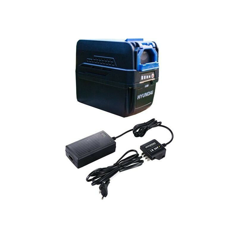 HYUNDAI Pack Batterie 40 V 4 Ah + chargeur HB40V4A