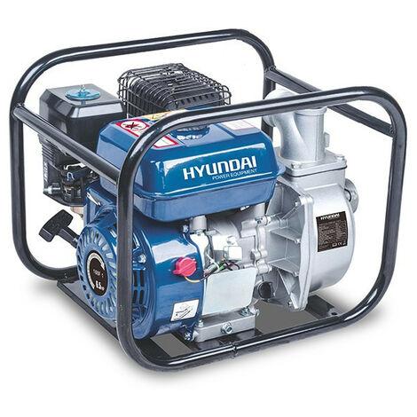 HYUNDAI Pompe à eau thermique 212 cm³ 33 m³/h 30 m - Pompe Aluminium HY50-A-1