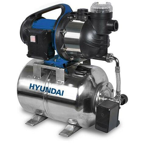 HYUNDAI Surpresseur 1300 W 24 L 4500 L/h - Moteur induction HBP1300
