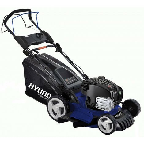 HYUNDAI Tondeuse thermique Briggs and Stratton 163cm³ 52cm 60 L HTDT5275BS