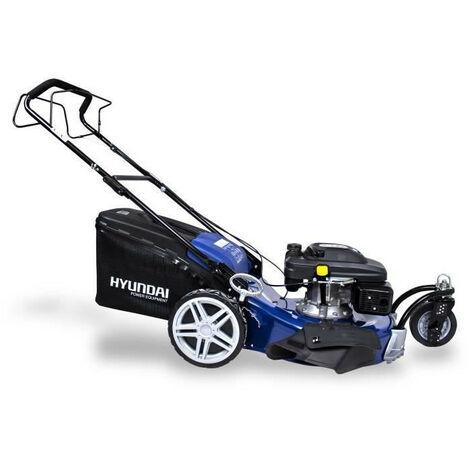 HYUNDAI Tondeuse tractee HTDT561RP - 3 roues 56cm 196cc Mulching