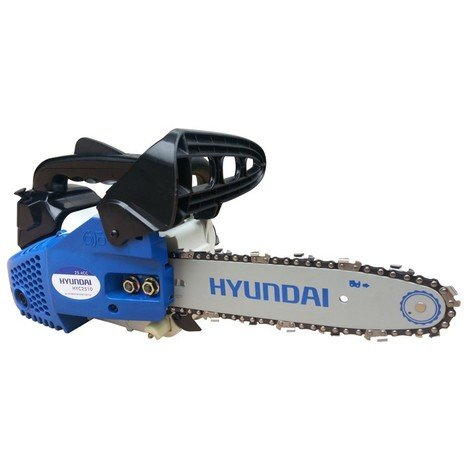 Hyundai - Tronçonneuse thermique 25.4 cc à essence 230 ml 2 temps 0,7 kW - HYC2510
