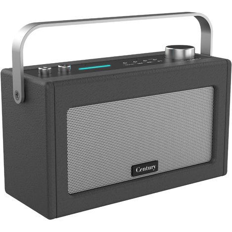 i-box Century Retro Amazon Alexa Speaker - Charcoal